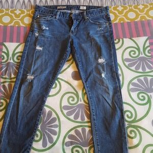The Nikki relaxed skinny jeans